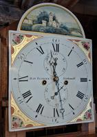 Early 19th  Century Mahogany Scottish Long Case Clock (3 of 5)