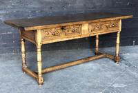 18th Century Spanish Chestnut Serving Table