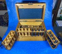 Victorian Pine Partially Fitted Games Box (13 of 32)