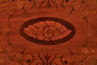 Sheraton Revival Oval Satinwood Inlaid Serving Tray c.1880 (3 of 6)