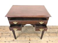 Antique English Mahogany Side Table (2 of 9)