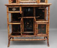 Impressive 19th Century Bamboo Cabinet (25 of 25)