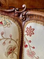 French Walnut Tub Chair (12 of 15)