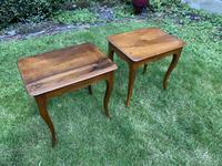 Pair of Walnut Side Tables (2 of 6)