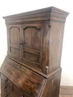 Antique 18th Century Welsh Oak Two Stage Bureau Cupboard (8 of 15)