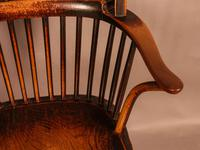 Thames Valley Yew Wood Windsor Chair (10 of 11)