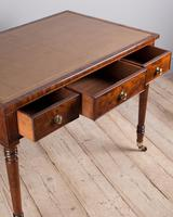 Fine Quality Late Regency Mahogany Library Table (7 of 8)