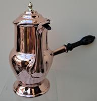 Antique English Late Georgian Copper Coffee Pot (5 of 7)