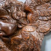 Carved Putto Head & Wings (4 of 9)
