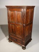 A Mid 19th Century Single Door Court Style Cupboard (2 of 5)