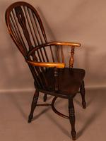 High Back Windsor Chair Ash & Elm Rockley Maker (3 of 8)