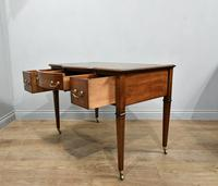 Antique Mahogany Inlaid Writing Desk (5 of 6)