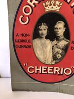 Pub Advertising Brewery Duckworth Showcard Coronation Cheerio Champagne (5 of 6)