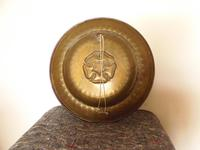 An arts and crafts brass charger (4 of 5)