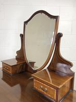 Edwardian Inlaid Mahogany Dressing Table (8 of 10)