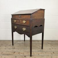 18th Century Oak Clerks Desk (2 of 12)
