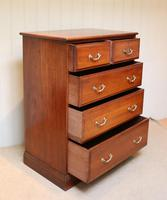 Late 19th Century Walnut Chest of Drawers (4 of 12)
