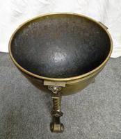 Arts & Crafts Brass Coal Bin (4 of 6)
