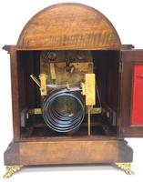 Mahogany & Bevelled Glass W&H Mantel Clock Dual Chiming Musical Bracket Clock Chiming on 9 Coiled Gongs (11 of 17)