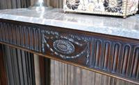 Antique Adam Style Mahogany Console / Hall Table (4 of 5)
