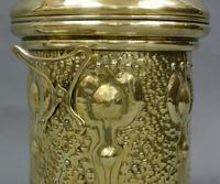 An Art Nouveau fireside container (4 of 4)
