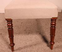 19th Century English Mahogany Bench (7 of 8)