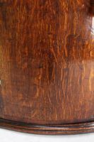 Georgian Oak Bow Front Corner Cupboard (12 of 13)