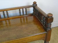 Good Aesthetic Mahogany Window Seat by Henry Pitts of Leeds (3 of 12)