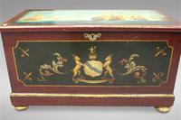 Hand Painted Victorian Pine Box (2 of 4)