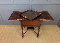 """Inlaid Mahogany """"Surprise"""" Drinks Table (11 of 15)"""