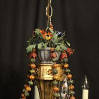 Florentine 6 Light Polychrome Antique Chandelier (9 of 10)