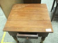 Square Side Table with Drawer (2 of 3)