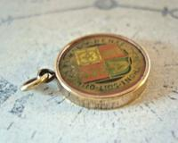 Victorian Pocket Watch Chain Royal Fob 1890s Antique 9ct Rose Gold Filled Fob (10 of 10)