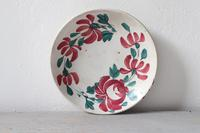 19th Century Floral Decorated Spongeware Pottery Bowl & Dished Saucer (14 of 24)
