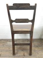 Pair of Welsh Oak Bar Back Farmhouse Chairs (4 of 15)