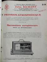 Mahogany Barograph, Richard Freres, Paris (2 of 5)