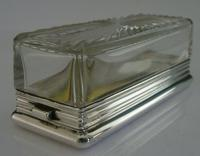 Asprey Victorian Sterling Silver Travelling Inkwell 1878 Antique Very Rare (9 of 11)