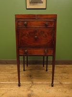 Antique 19th Century Gentleman's Washstand Cabinet, Bedside Cabinet (7 of 17)