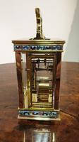 Attractive Small Brass French Carriage Clock (2 of 7)