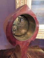 Antique Art Nouveau Inlaid Mantel Clock (7 of 7)
