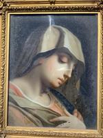 Verre Eglomise Portrait of Madonna (10 of 12)
