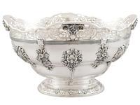 Sterling Silver Presentation Bowl - Antique George V 1918