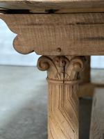Extremely Rare Large Oak Refectory Table (29 of 35)