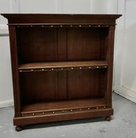 Arts & Crafts Open Oak Bookcase (2 of 5)