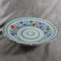 West German, Bay Keramik, Oslo Decor Fruit Bowl (3 of 5)