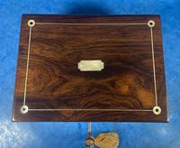 Rosewood Jewellery Box c.1830 (8 of 9)