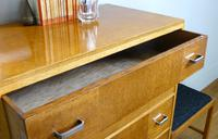 1930s Heals Golden Oak 5 Drawer Chest of Drawers (6 of 14)