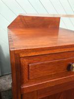 Unusual Pair of Walnut Bedside Cabinet (12 of 13)