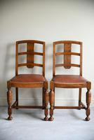 1930s Oak Dining Chairs (11 of 11)