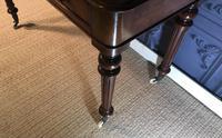 Victorian Mahogany Writing Table (11 of 13)